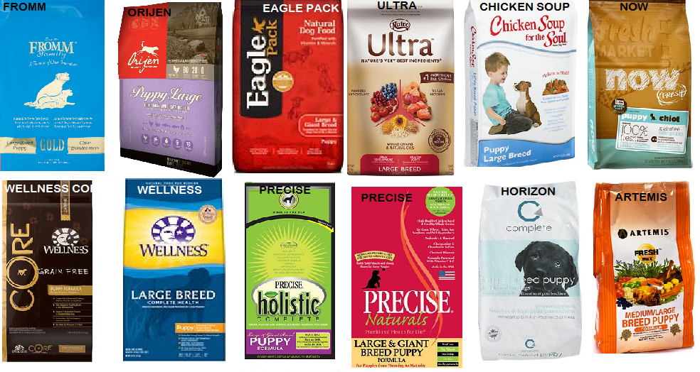 whole dog journal approved dry foods